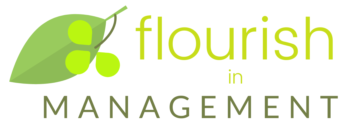 Flourish in Management button