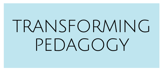 Transforming Pedagogy Button